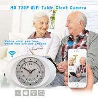 Clock IP Camera - WiFI Camera (Hidden Clock Camera)...